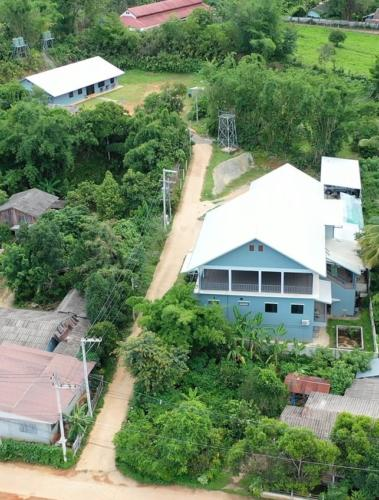 Ariel view of S2S campus.