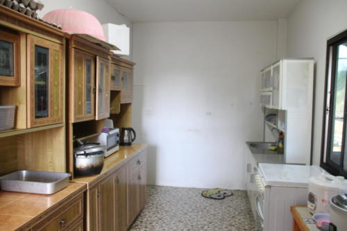 Kids inside kitchen