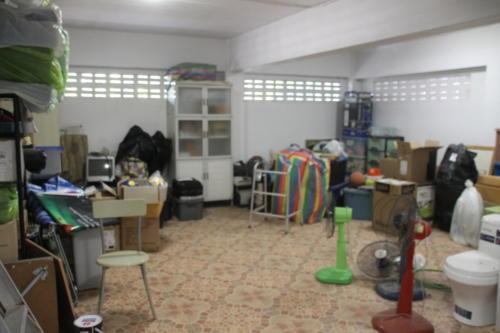 Large storage room on the garage level.