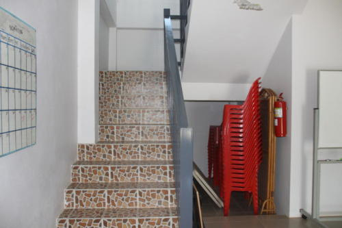 Steps to the 2nd floor