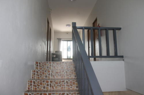 Up the stairs to the 2nd floor.