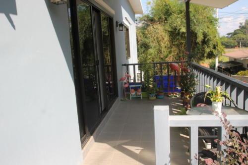 Front door to Bill & Susie's part of the house.