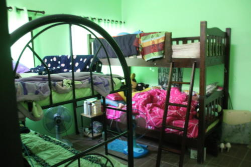 Girl's bedroom – their bunk beds.